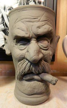 Old One Eye Pilsner Mug-WIP by thebigduluth.deviantart.com on @deviantART