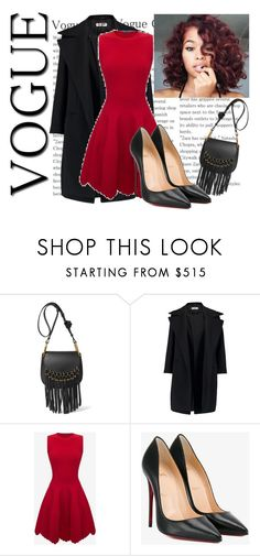 """""""Untitled #68"""" by softic013 ❤ liked on Polyvore featuring Chloé, Jil Sander, Alexander McQueen and Christian Louboutin"""