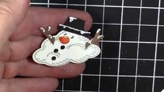 Learn how to build a snowman using the Sprinkles of Life stamp set and a few punches. You will enjoy creating hand made cards with this fun idea shared by Ju...