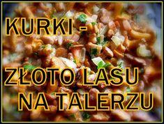 Jak wykorzystać kurki ? Dania z kurkami | Smaczna Pyza Potato Salad, Potatoes, Beef, Ethnic Recipes, Food, Hands, Meat, Potato, Essen