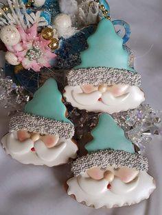 Best Sugar Cookies, Fancy Cookies, Iced Cookies, Cute Cookies, Royal Icing Cookies, Cookies Et Biscuits, Snowflake Christmas Cookies, Christmas Sugar Cookies, Christmas Sweets