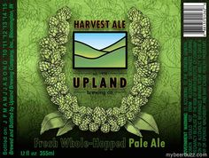 Upland - Harvest Ale Fresh Whole-Hopped Pale Ale