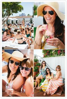 Relaxation is a must! Nothing says relaxation than a day with your girls at the spa followed by some much needed poolside time. Grab your favorite cocktail, some shades and enjoy the day