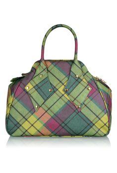 Plaid Purse #plaid #handbags