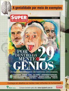 Anúncio produzido para a editora Abril para divulgar especial da revista Superinteressante, 2012.