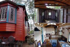 Идеальный вариант дачного домика из старого вагона.