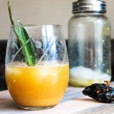 Pineapple Ancho Chile Rum Cocktail. This refreshing, smoky-sweet cocktail is perfect for Cinco de Mayo!