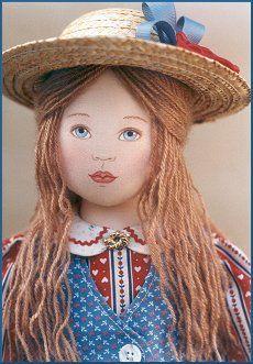 Liberty Ann  - Kezi Matthews Original Cloth Doll Pattern