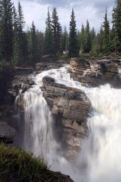 Alberta, Canada  Athabasca Falls