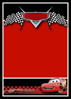 Disney Cars Birthday Party Pinterest Cars invitation Free