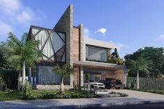 Luxury Homes Suite ideas Modern Exterior, Exterior Design, Modern Architecture House, Architecture Design, Modern Villa Design, Modern Mansion, Dream House Exterior, House Elevation, Luxury Homes Interior