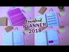 Planner 2018 para download - Casinha Arrumada