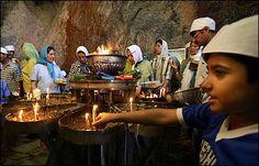 Zoroastrians celebrate.
