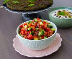 Persisk shirazi sallad