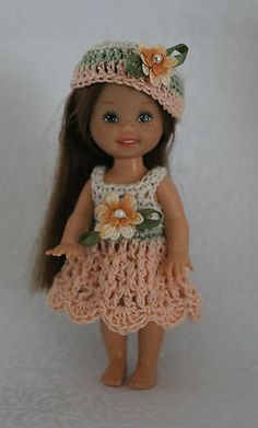 Handmade Crochet / Knit KELLY Clothes Outfit