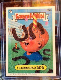 1987 Topps Garbage Pail Kids Trading Card 396b by LEATHERGLACIER, $2.00