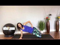 Diastasis Recti Healing Workout - YouTube