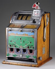 Mills baseball tabletop slot machine gambling machines, vending machines, v Gambling Games, Gambling Quotes, Casino Games, Peter O'toole, Game Design, Gambling Machines, Vending Machines, Vintage Slot Machines, Juke Box