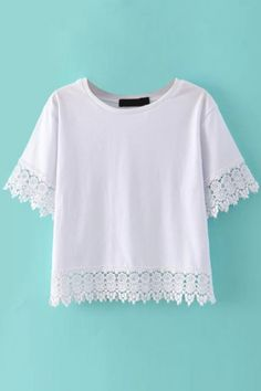 lovely-white-crop-tee-with-lace