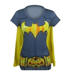 Batgirl Suit Up Women's Costume T-Shirt