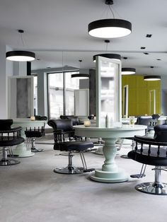 The Inch Hairstudio in Oslo by Inne Design #salon