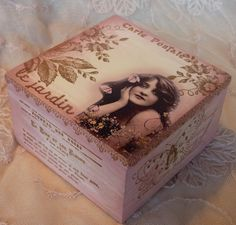Ephemera's Attic: And Another Altered Box for Alter It Monthly