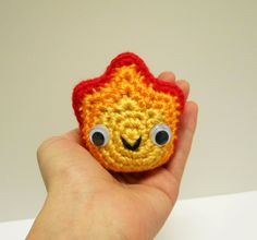 INSPIRATION: Amigurumi Calcifer