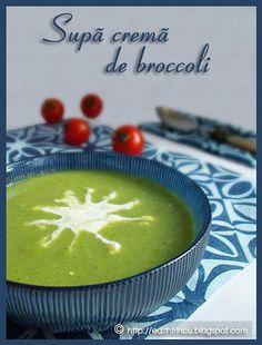 SUPA CREMA DE BROCCOLI- Cum sunt la dieta, trebuie sa adaptez si retetele conform acesteia. Asa ca pregatiti-va pentru mai multe retete dietetice. De data asta am ales broccoli. -