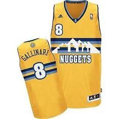 31865d360 Buy Denver Nuggets Danilo Gallinari Revolution 30 Swingman Alternate Gold  Jersey Black Friday Deals from Reliable Denver Nuggets Danilo Gallinari  Revolution ...