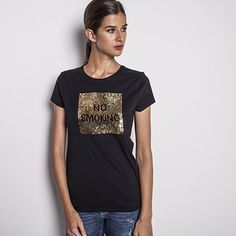 Tee-shirt sequins réversibles