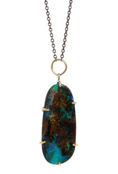 BOULDER OPAL | Emily Amey Jewelry  Boulder Opals are one of my favorite stone.! They're super rare, and found only underground in ironstone boulders in Queensland Australia!