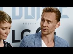 Crimson Peak Cast - Tom Hiddleston, Jessica Chastain, Mia Wasikowska- SDCC 2015 Interview - EW - YouTube
