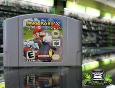Who was your best racer? #N64 #Retro #MarioKart