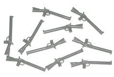 LEGO 10 Dark Bluish Gray Minifig Rifle Guns Weapons 79109 #LEGO