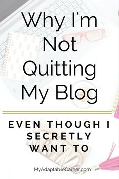 If you feel like quitting your blog, read this post for inspiration and strategies for blog growth.