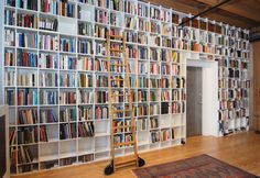 Rebecca Goldstein and Steven Pinker's impressive personal library