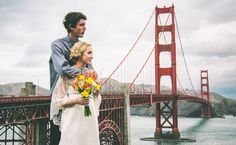 This Couple Eloped On The Golden Gate Bridge (and The Photos Are Stunning!)