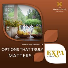 THE HEMISPHERE PRESENTS EXPA VILLAS With #TheHemisphere Expa Villas. you will get option to #expand your #villa the way you want to.