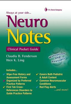 Neuro Notes Clinical Pocket Guide PDF