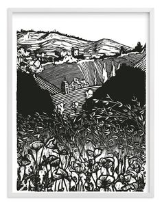 La Torre limited edition print by Liz Conley Engraving Art, Engraving Printing, Engraving Ideas, Linocut Prints, Making Ideas, Printmaking, Illustration Art, Illustrations, Wall Art Prints