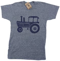 Tractor unisex eco tee