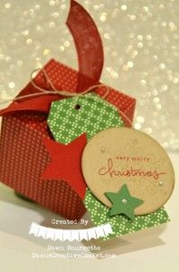 Endless Christmas Wishes, & the Gift Box Punch Board! Dawn Bourgette - Dawn's Creative Chalet  http://www.dawnscreativechalet.stampinup.net #stampinup #papercrafting #giftgiving #giftbox #cardmaking #stamping #Christmas #holiday #holidayCatalog2014 #dawnscreativechalet