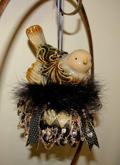 Fancy Bird Decorative Tassel.  via Etsy.  brenda clayton