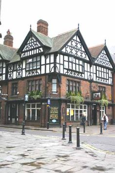Coach and Horses Pub, Chester, England.