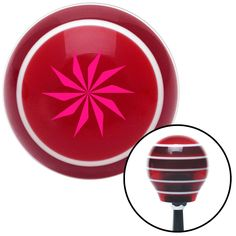 Pink Sharp Spinning Fan Blades Red Stripe Shift Knob with M16 x 15 Insert - Give your interior the ultimate look. American Shifter's Elite(TM) series shift knobs are made from the highest quality components resulting in a superior feel on every shift. Each shift knob is designed and customized in the USA by skilled shift knob artisans who have a trained eye on every detail. American Shifters shift knobs offers an exclusive aluminum threaded insert designed to be screwed onto your shift arm…