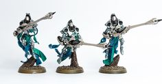 Hey there, I made some good progress on the first batch of Shadow Spectres, check them out. You can now get a good impression of what the...