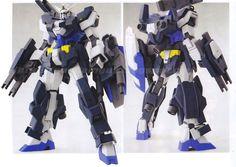 GUNDAM GUY: 1/144 AGE-1AJ Gundam AGE-1 Assault Jacket - Custom Build