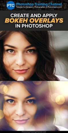 Photoshop tutorial teaching you how to create and apply bokeh overlays.