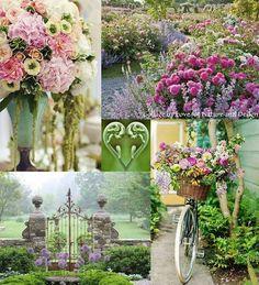 Flower & gate