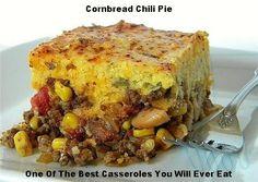 Cornbread Chili Pie